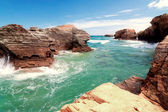 Beach of cathedrals, Galicia, Spa — Stock Photo