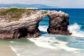 Beach of cathedrals, Galicia, Spain — Stock Photo