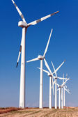 Windmills for electric power production — Foto de Stock