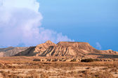 Mountain Castildetierra in Bardenas Reales Nature Park, Navarra, — Stock Photo