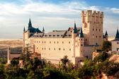 Castle Alcazar of Segovia, Castilla and Leon, Spain — Stock Photo