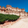 View of Coca Castle, province of Segovia, central Spain — Stock Photo #36509157