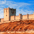 Castle of Penafiel, Valladolid, Spain — Foto de Stock