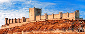 Castle of Penafiel, Valladolid, Spain — Stock Photo