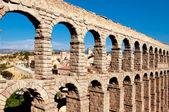 西班牙塞哥维亚市的罗马渡槽 — ストック写真