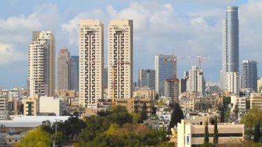 Tel Aviv - Ramat Gan City — Stock Video