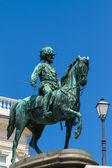 Famosa estátua do arquiduque albrecht — Foto Stock