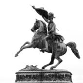 Statue Of Archduke Charles — Stock Photo