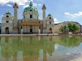 St. Charles's Church, Vienna — Foto Stock