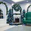 Stock Photo: Christmas living room