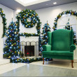 Christmas living room — Foto de Stock