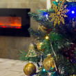 Christmas interior — Stock Photo