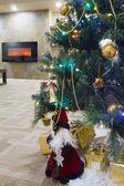Kerstmis interieur — Stockfoto