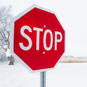 Stopbord — Stockfoto
