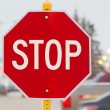 Stop sign — Stock Photo #18395195