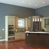 Design d'intérieur de cuisine moderne — Photo
