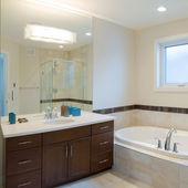 Bathroom Interior design — Stock Photo