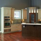 Design de interiores de cozinha moderna — Foto Stock