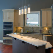 дизайн интерьера кухни — Стоковое фото