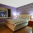 Stock Photo: Bedroom Interior Design