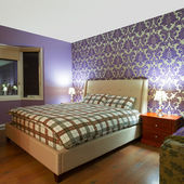 Bedroom Interior Design — Stock Photo