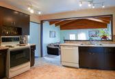 Interior design of modern kitchen — Stockfoto