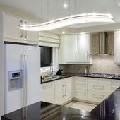 Design de interiores de cozinha — Fotografia Stock