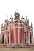 Chesme Church - Church of St John the Baptist -  built in Gothic Revival style in 1780. — Stock Photo
