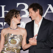 Milla Jovovich and Paul W.S. Anderson — Stock Photo