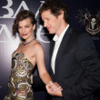 Stock Photo: MillJovovich and Paul W.S. Anderson