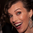 Actress Milla Jovovich — Stock Photo