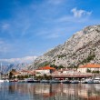 Kotor bay, UNESCO heritage site, Montenegro, Europe — Photo