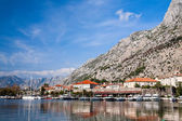 Kotor bay, UNESCO heritage site, Montenegro, Europe — Stock Photo