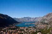 Kotor bay skyline, Montenegro, Europe — Stock Photo