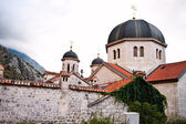 Orthodox church St. Nicholas in Kotor, Montenegro Europe — Stock Photo