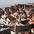 Dubrovnik old town, Croatia, Adriatic sea — Stock Photo