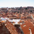Looking over the rooftops, Dubrovnik, Croatia — Stock Photo