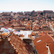 Stock Photo: Looking over the rooftops, Dubrovnik, Croatia