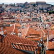 Stock Photo: Looking across rooftops of Dubrovnik, Croatia