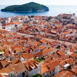 Dubrovnik, UNESCO World Heritage Site, Croatia, Europe — Stock Photo