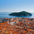 Stock Photo: Cityscape of Dubrovnik, Croatia, Europe