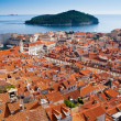 Dubrovnik old town cityscape, Croatia — Stock Photo