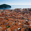 Stock Photo: View of Old Town in Dubrovnik, Croatia