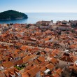 View of Old Town in Dubrovnik, Croatia - Stock Photo