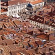 Roofs of Dubrovnik, Old town, Croatia, Europe, Adriatic sea - Stock Photo