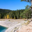 Autumn landscape in Durmitor National Park — Stock Photo