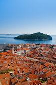 Cityscape of Dubrovnik, Croatia, Europe — Stock Photo