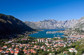 Kotor cityscape — Stock Photo