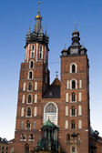 Krakow, Poland - July 12: Church Square Old Market — Stock Photo