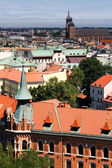 Krakow, Poland - July 14: The city views from the tower — Stock Photo
